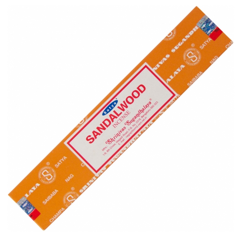 Satya Colored Nag Champa Incense 15 gr Sandalwood