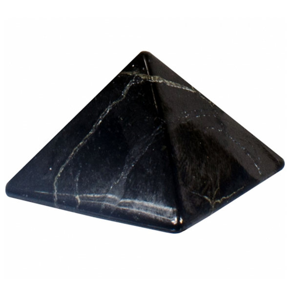 Shungite Gemstone Pyramid