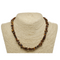 Gold Tigers Eye Natural Beaded Chip Necklace