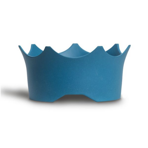 CrownJuwel – A GemWater Bowl for 4-legged Royals to raise your best friend's enthusiasm for healthy water. Ocean Blue