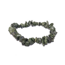 Zebra Serpentine Natural Chip Bracelet Jewelry | Dinomite Rocks and Gems