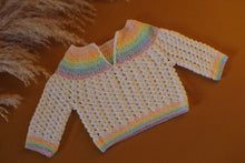 Load image into Gallery viewer, Pastel Rainbow Sweater