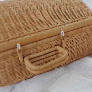 Wicker Suitcase