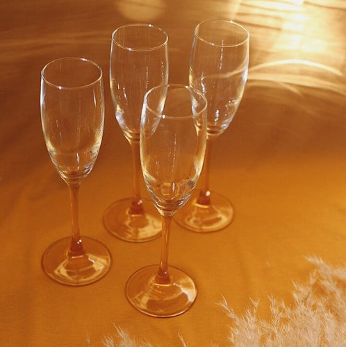 French Champagne Flutes