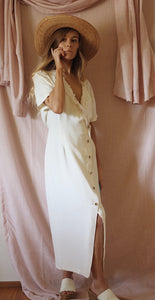 Soft Cream Dress
