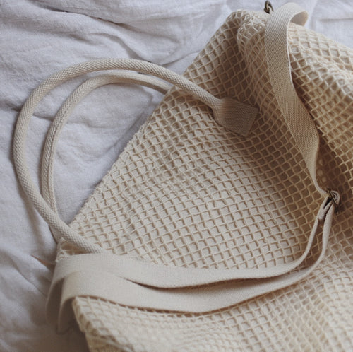 Fishnet Duffle Bag