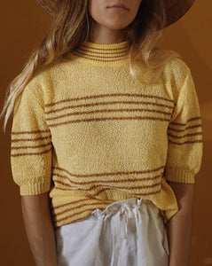 Banana Mock Neck