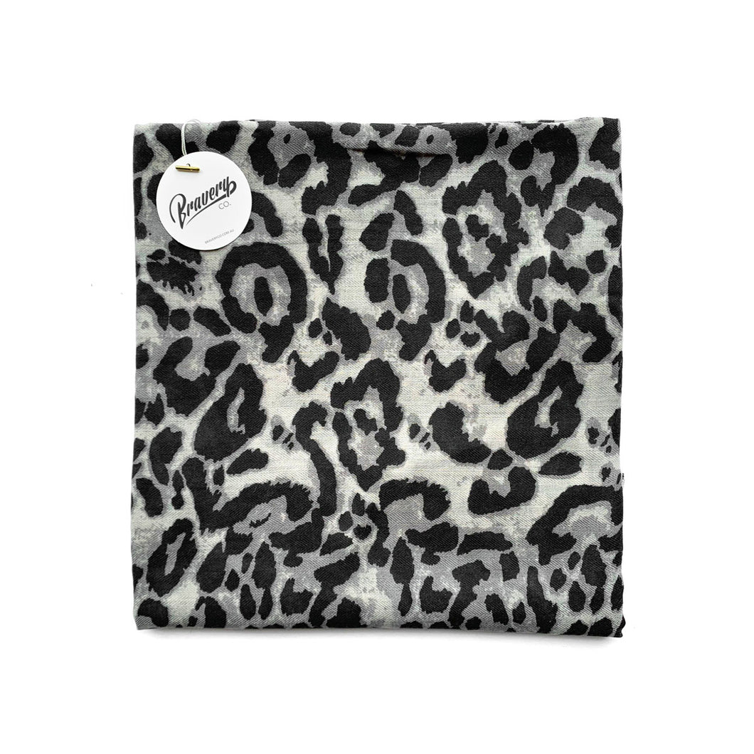 Headscarf - Snow Leopard