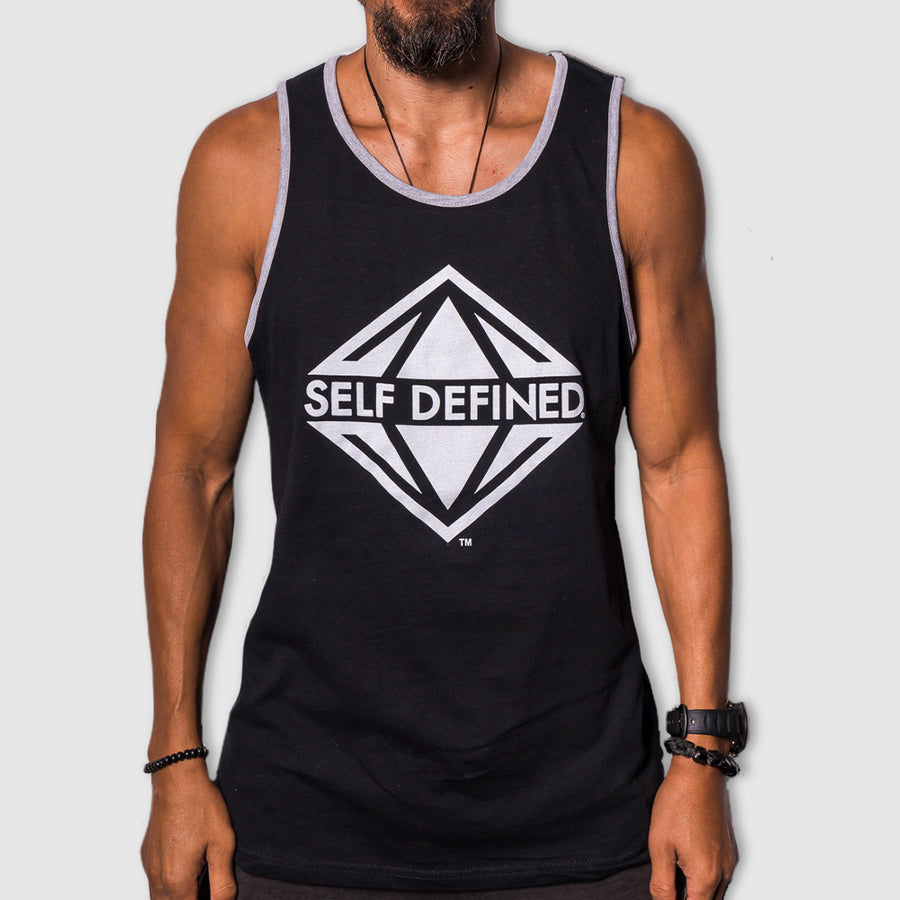 Self Defined Original Tank - Black/Gray Trim