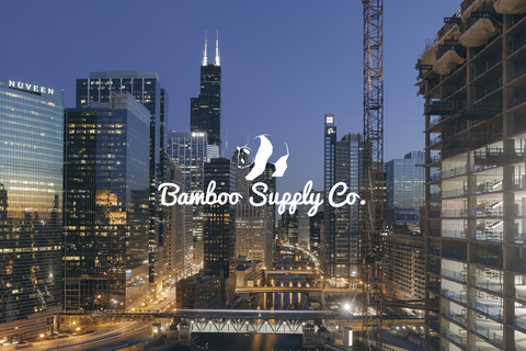 Bamboo Supply Co. Chicago Logo