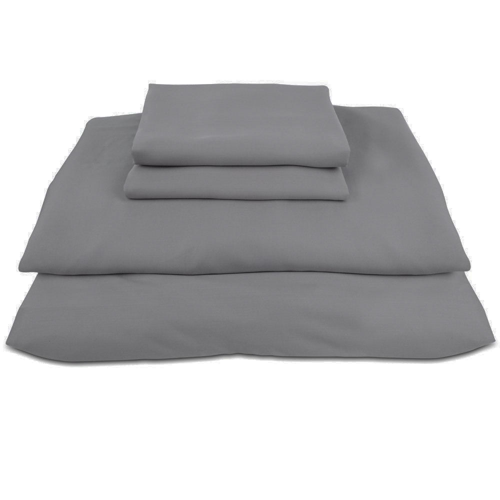 Luxury Bamboo Pillow Cases - Charcoal (100% Viscose from Bamboo)