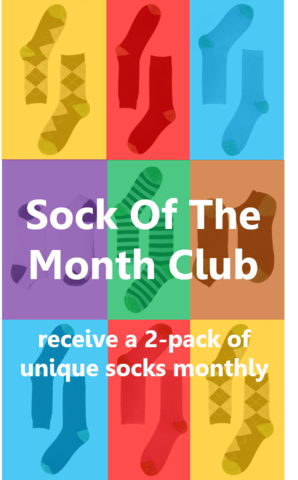Bamboo Sock of the Month Club Gift Subscription