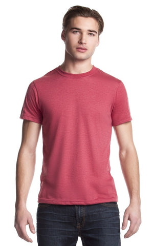 TriBlend Crewneck T-Shirt - Heather Red