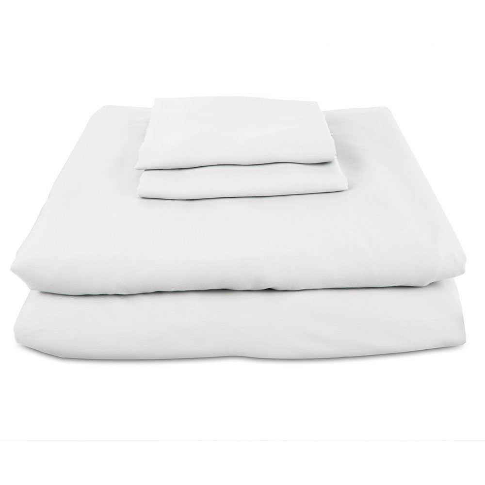 Luxury Bamboo Pillow Cases - White (100% Viscose from Bamboo)