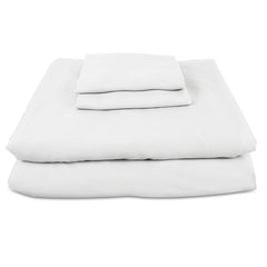 Luxury Bamboo Bed Sheets - White (100% Viscose from Bamboo)
