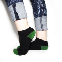 Bamboo Supply Co. Bamboo Black Ankle Socks