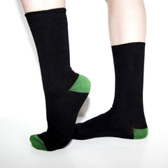 Bamboo Supply Co. Bamboo Black Sock Gift Subscription