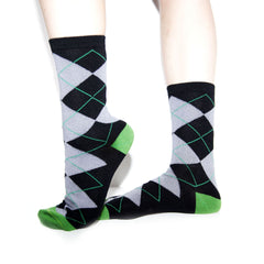Bamboo Supply Co. Bamboo Argyle Sock