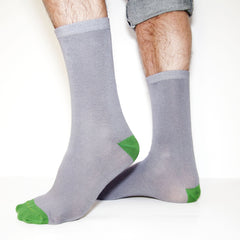 Bamboo Supply Co. Bamboo Grey Sock Gift Subscription