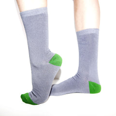Bamboo Supply Co. Bamboo Grey Sock