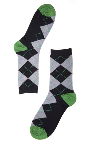 Argyle Bamboo Sock Gift Subscription