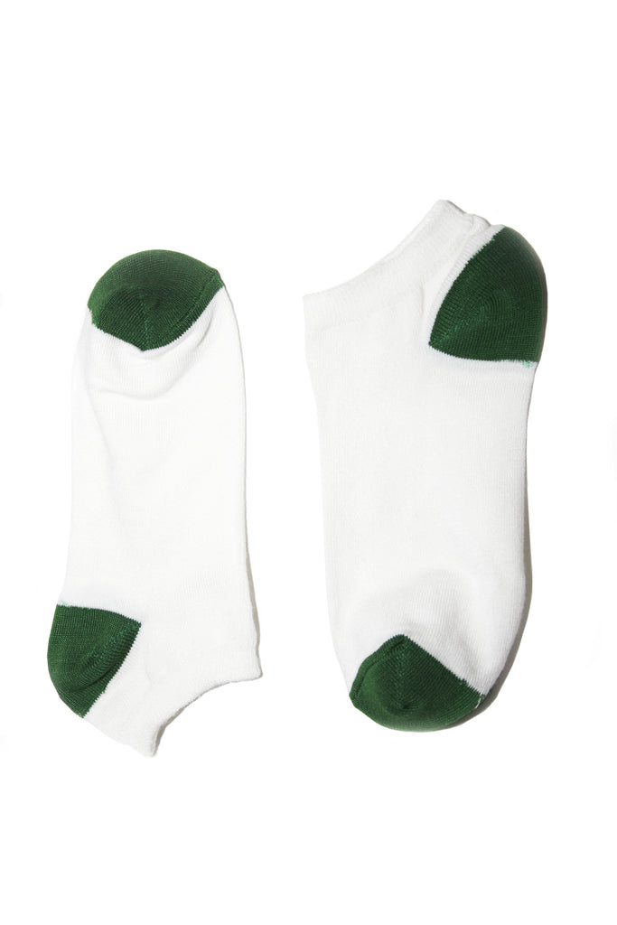 Bamboo Supply Co. Bamboo White Ankle Sock