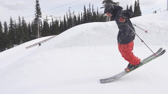 How To Nollie On Skis