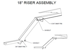 Birch Hitch Riser assembly instructions