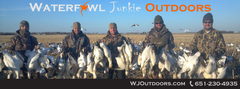 Spring Snow Goose with Waterfowl Junkie Outdoors