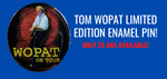 Tom Wopat Limited Edition Enamel Pin
