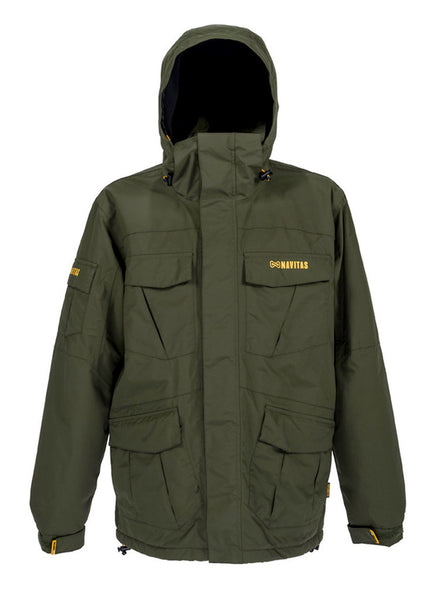 Navitas Apparel Agent Fishing Jacket Rifle Green - Medium