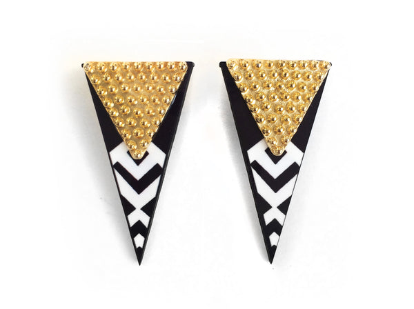 "The ""Dream Noir"" Earrings"