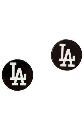 The LA city stud earrings