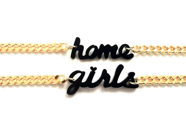 The Homegirls bracelets (Black)