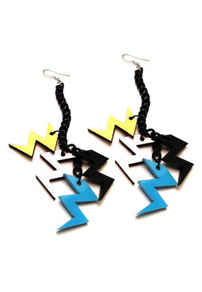 The Big Bang cluster earrings
