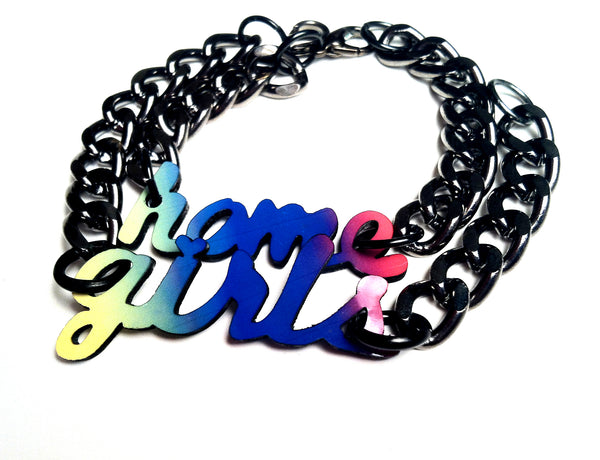 The Home-girls Friendship bracelets (rainbow)