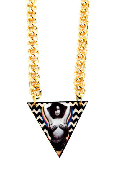 "The ""Nasty girl"" Janet chain pendant"