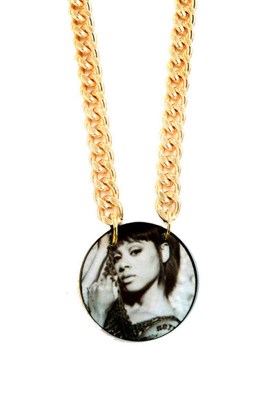 "The ""Left eye"" chain pendant"