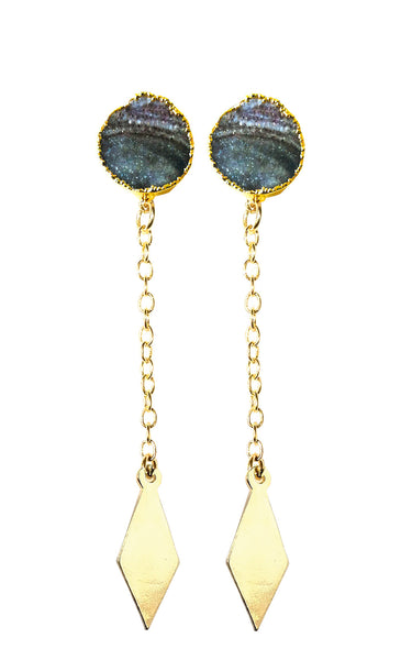 "The ""Luna"" drop earrings"