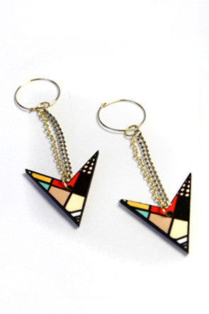 The Charged Up Tribal Drop Earring