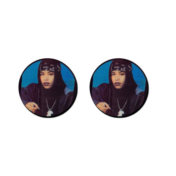 "The babygirl ""Aaliyah"" stud earrings"