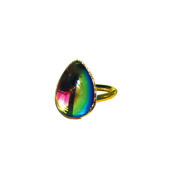 "The ""Glow"" Teardrop ring"