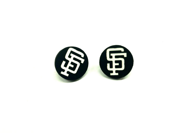 The SF city stud earrings