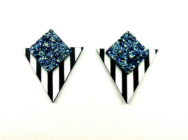 The Ruff Diamond earrings