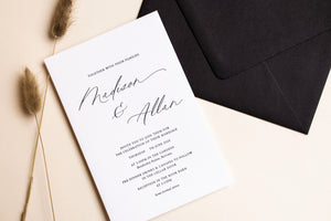 How are letterpress invitations made?