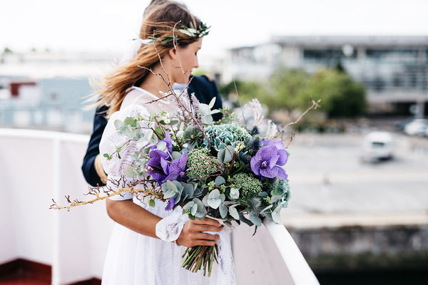 Picking the perfect flowers for your big day