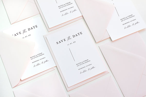 Wedding Invitations 101: When to send out wedding invites and save the dates