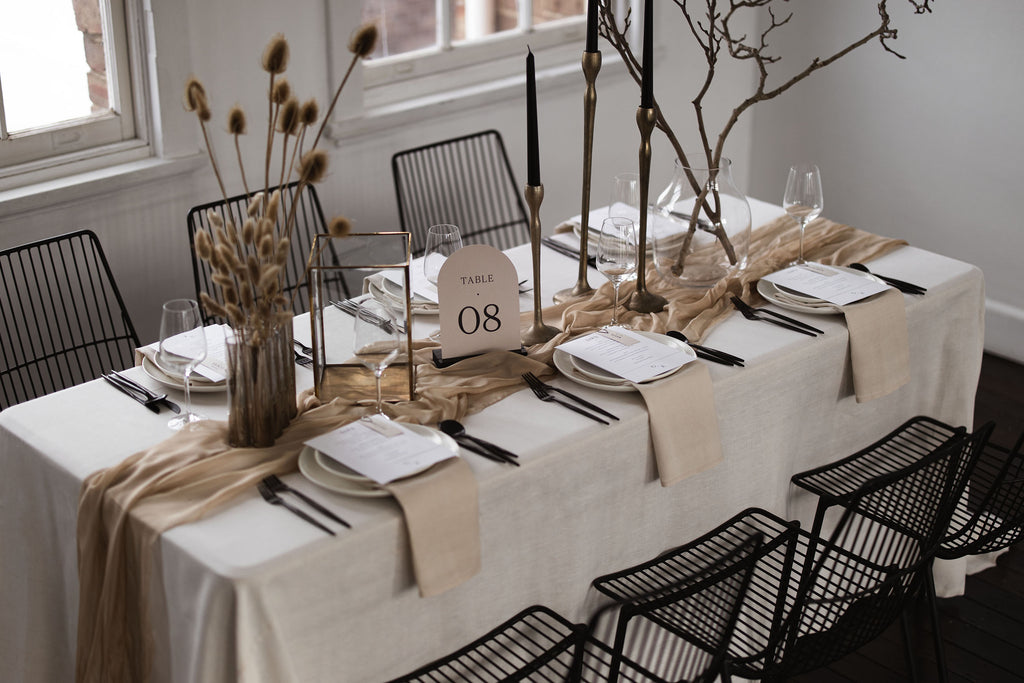 Shot of Georgia Table Setting