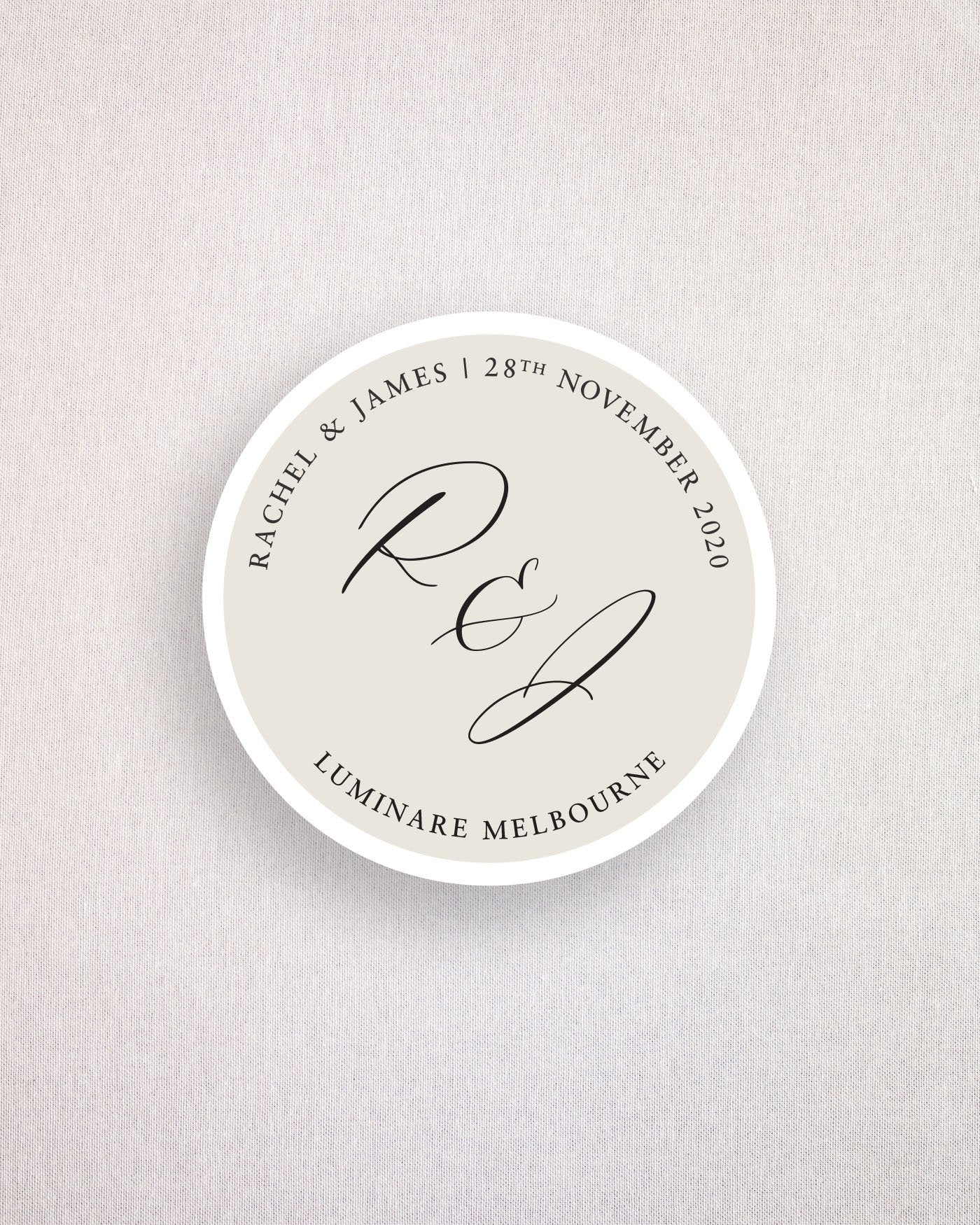 Amour Keepsake Coaster