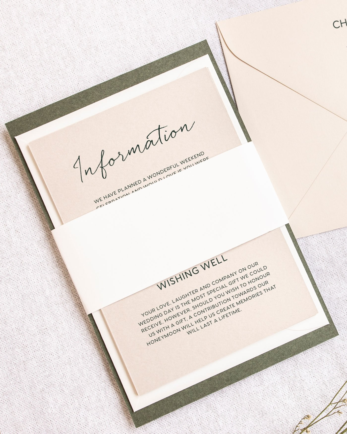 Clair Coloured Invitation Envelopes